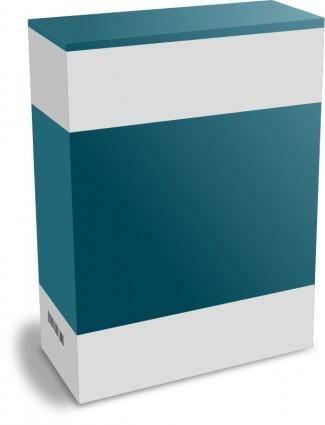 Software Carton Box with no Text (remix)