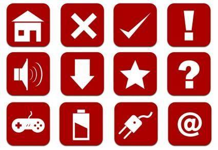 free vector Icons web