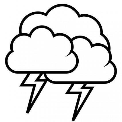 Tango weather storm - outline