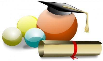 free vector Graduate 4