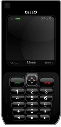 free vector Cellphone