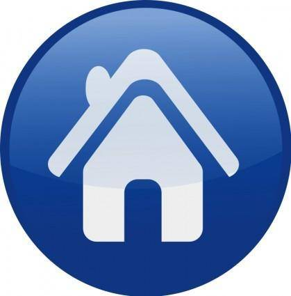 free vector House-blue