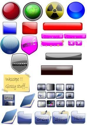 free vector Mixed Gloss Stuff