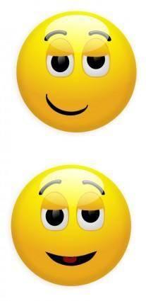 free vector Smiley 4