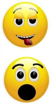 free vector Smiley 1