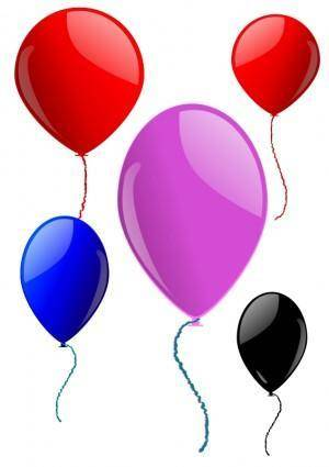 free vector Some Balloons