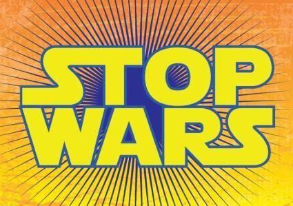 free vector Stop Wars
