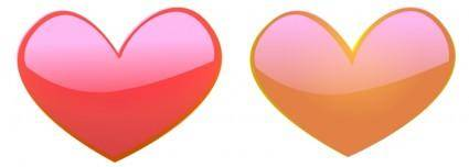 free vector Heart10