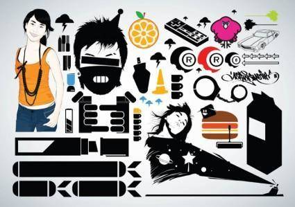 free vector Free Vector Graphic Pack