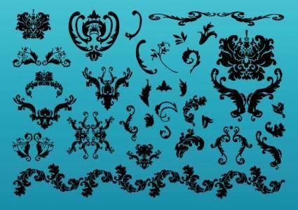 free vector Elegant Decoration