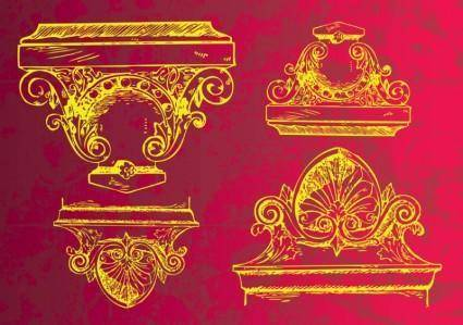 free vector Ancient Decoration