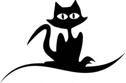 free vector Cat -7