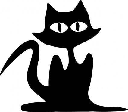 free vector Cat -6