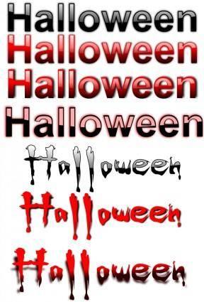 free vector Halloween 9