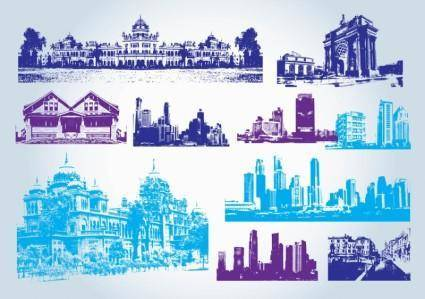 free vector Buildings Clip Art