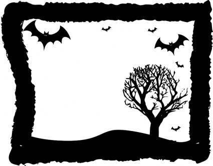 free vector Halloween Frame