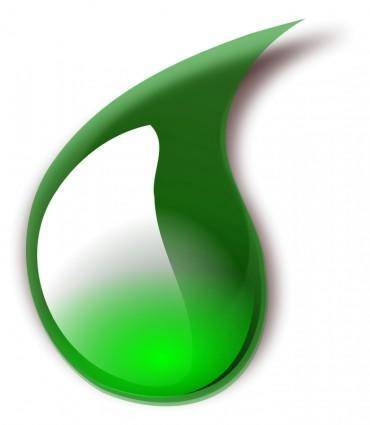 free vector Slime drop 1