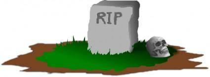free vector Grave, R.I.P