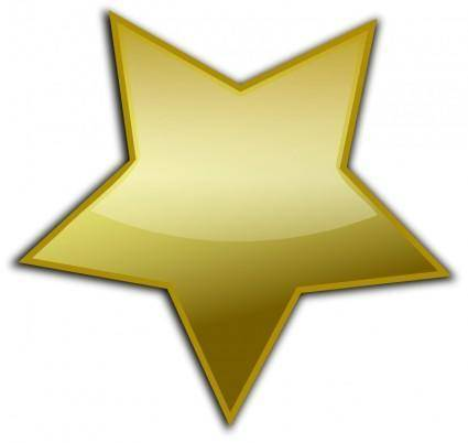 free vector Gold Button 014