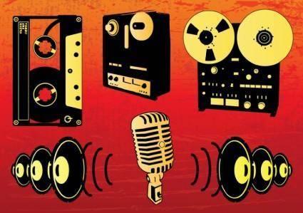 Music Vectors Set