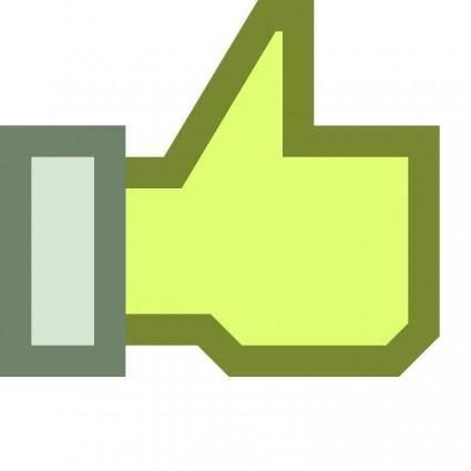free vector Thumb up Like