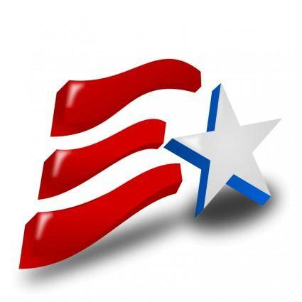 free vector Independence Day (USA) Icon