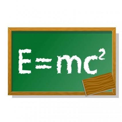 free vector E=mc2