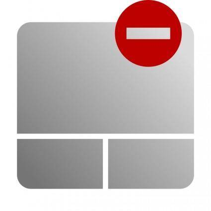 Touchpad Disable Icon
