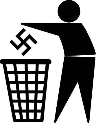 free vector Keep nazis outside