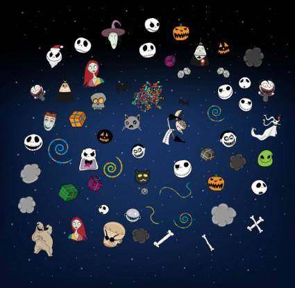 free vector Halloween Vectors