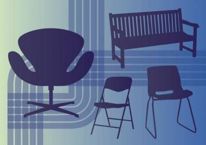 free vector Interior Design Vectors
