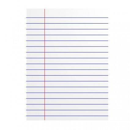 free vector Lined paper icon