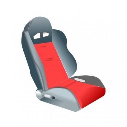 free vector Racing seat