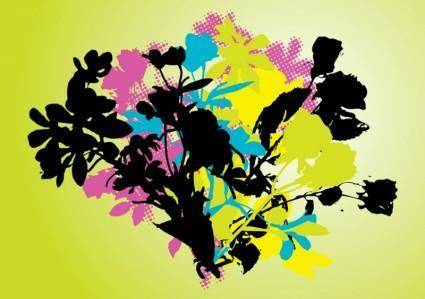 free vector Nature Pop Art