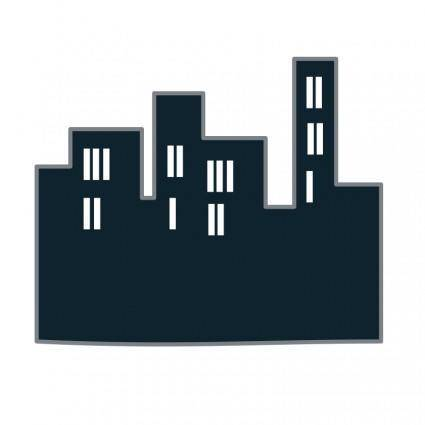 free vector Buildings icon