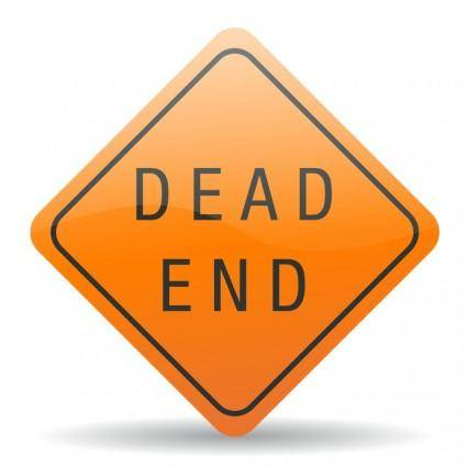 free vector Dead end sign