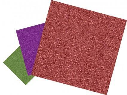 free vector Green, purple, and red sandpapers