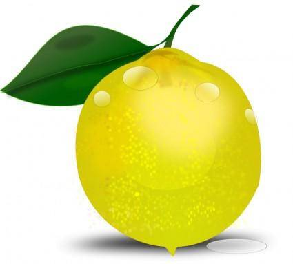 Lemon photorealistic