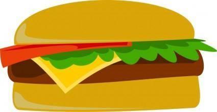 free vector Cheese Burger