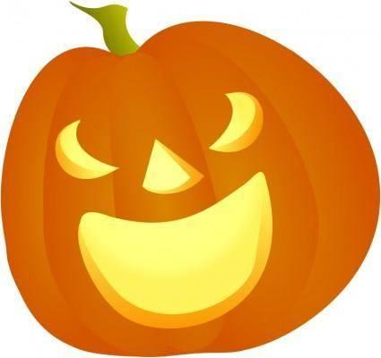 free vector Halloween Pumpkin Smile