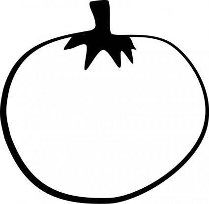 free vector Tomato Line Art