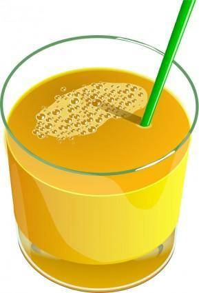 free vector Juice Glass