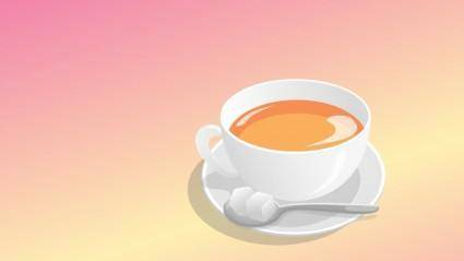 free vector Teacup