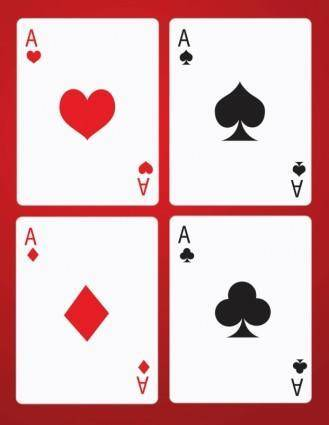 free vector Poker Game Cards