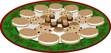 free vector Plate of Yummies