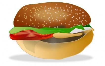 free vector Burger