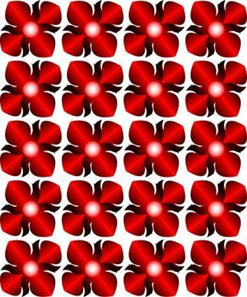 free vector Thai Flower Pattern