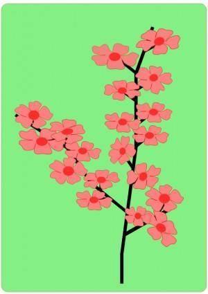 free vector Flower, Flowers, Sakura