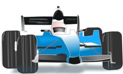 free vector Race car blue