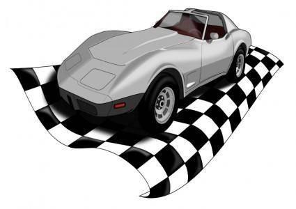 free vector Checkervette